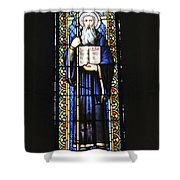 Santa Maria De Montserrat Abbey Shower Curtain