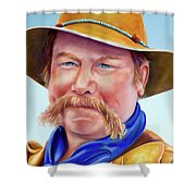 Santana Jack Shower Curtain