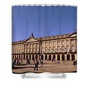 Santiago De Compostela Galicia Spain Shower Curtain