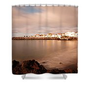 Sao Roque At Sunrise Shower Curtain by Gaspar Avila