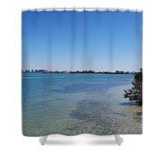 Sarasota Bay Shower Curtain