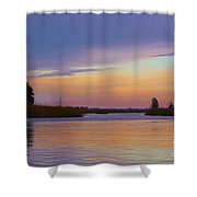 Savannah Sunset Shower Curtain