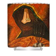 Scent Of A Woman Shower Curtain