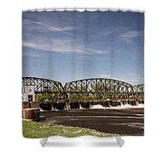 Schenectady Lock 8 Shower Curtain