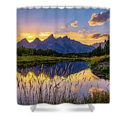 Schwabacher's Reflection Shower Curtain