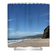 Scott Creek Beach California Usa Shower Curtain