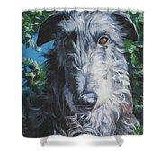 Scottish Deerhound Shower Curtain