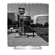 Sculpt Siouxland - Sioux City Shower Curtain