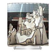 Sculpture In Chicago Shower Curtain