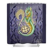 Sea Dragon II Shower Curtain