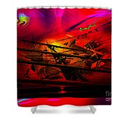 Sea Romantic - Sailing Ship 3 Shower Curtain