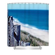 Seafence Shower Curtain