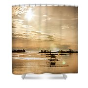 Seair Beaver 2 Shower Curtain