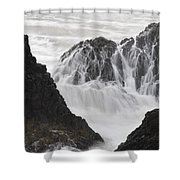 Seal Rock Waves And Rocks 2 Shower Curtain