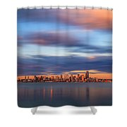 Seattle 6 Shower Curtain