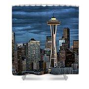 Seattle Night Shower Curtain