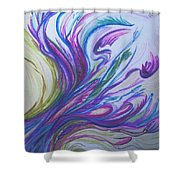 Seaweedy Shower Curtain