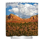 Sedona Mountains Arizona Shower Curtain