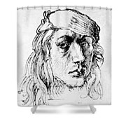 Self Portrait 1493  Shower Curtain
