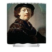 Self-portrait Rembrandt Harmenszoon Van Rijn Shower Curtain