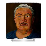 Selfportrait Shower Curtain