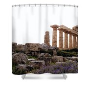 Selinunte - Sicily Shower Curtain