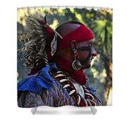 Seminole Warrior Shower Curtain