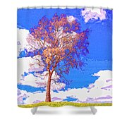 Sentinel Shower Curtain