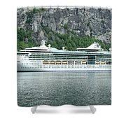 Serenade Of The Seas Shower Curtain