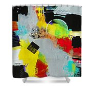 Serenity In Chaos Shower Curtain
