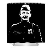 Sergeant Alvin York Graphic Shower Curtain
