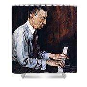 Sergei Rachmaninoff Shower Curtain