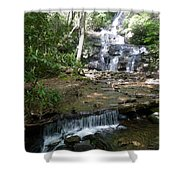Set Rock Creek Falls Shower Curtain