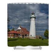 Seul Choix Lighthouse Shower Curtain
