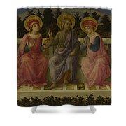 Seven Saints Shower Curtain