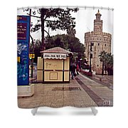 Sevilla-90 Shower Curtain