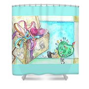 Sewing Shower Curtain