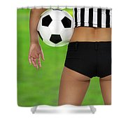 Sexy Referee Shower Curtain
