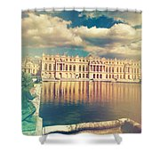 Shabby Chic Versailles Palace Gardens Shower Curtain