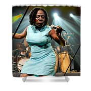 Sharon Jones And The Dap-kings Collection Shower Curtain