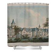 Sheppard Asylum  Shower Curtain