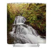 Shepperd's Dell Falls Shower Curtain