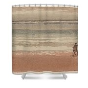 Shore Scene Shower Curtain
