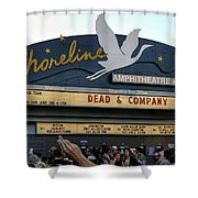 Shoreline Amphitheatre - Dead And Company Shower Curtain
