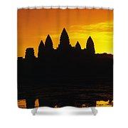 Siem Reap, Angkor Wat Shower Curtain