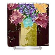 Sienna Floral Shower Curtain