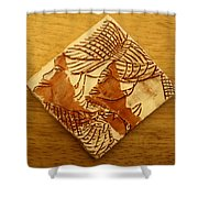 Sights - Tile Shower Curtain
