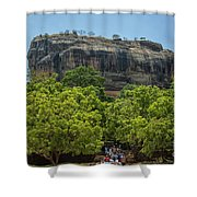 Sigiriya Rock Shower Curtain