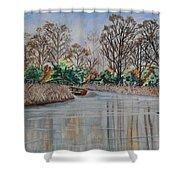 Silance Shower Curtain