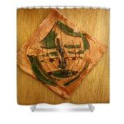 Simeon - Tile Shower Curtain